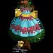 Giant Spring Dress Pattern Tree-icon
