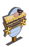 Mocha Blackberry Cake 2 Star Mastery Sign-icon