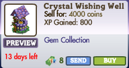 Crystal Wishing Well Market Info (June 2012)