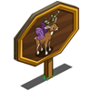 Fairy Deer Mastery Sign-icon