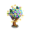Stained Glass Bloom Tree-icon