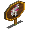 Aloha Unicorn Foal Mastery Sign-icon