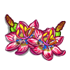 Crimson Shade Flower-icon
