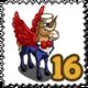 Patriotic Pegacorn Stamp-icon