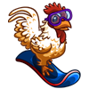 Snowboard Rooster-icon
