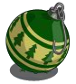Winter green ornament-icon
