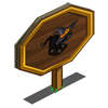 Witch Cat Mastery Sign-icon