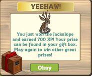 Farmville jackalope