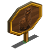 Long Haired Alpaca Mastery Sign-icon