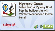 Mystery Game 109 Market Info (July 2012)