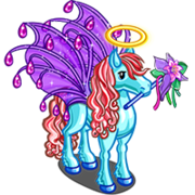 Purple Fairy Pegasus-icon