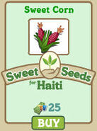 Sweet Corn (Sweet Seeds for Haiti) License
