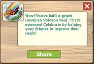 Volcano Reef Completed