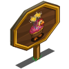 4th Birthday Chicken Mastery Sign-icon
