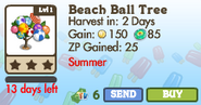 Beach Ball Tree Market Info (June 2012)