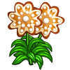 Gingerbread Flower-icon