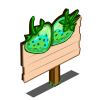 Green Strawberries Mastery Sign-icon