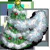 Silver Tinsel Tree-icon