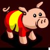 Spain Flag Pig-icon