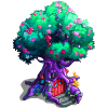 Tree cottage-icon