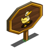 Yellow Duck Mastery Sign-icon
