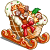 Gingerbread Sleigh-icon