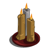 Gold Candles Set-icon
