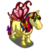 Yellow Butterfly Pony-icon