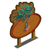 Aquatic Bonsai Tree Mastery Sign-icon