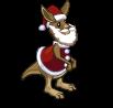 Big Santa Kangaroo-icon