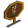 Deer Fawn Mastery Sign-icon