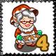 Granny Cookie Gnomette Stamp-icon