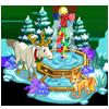 North Pole Fountain-icon