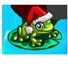 Santa Frog-icon