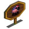 American Flag Ewe Mastery Sign-icon