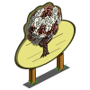 Chocolate Rose Tree Mastery Sign-icon