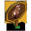 Boho Chic Unicorn Foal Mastery Sign-icon