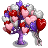 Heart Balloon Tree-icon