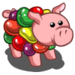 Jelly Bean Pig-icon