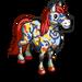 Splatter Paint Horse-icon