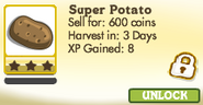 Super Potatoes Locked