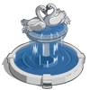Swan Fountain-icon