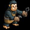 Black Smith Chimpanzee-icon