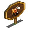 Candy Corn Foal Mastery Sign-icon