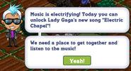 Electric chapel notice quest
