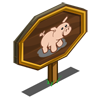 Pig Mastery Sign-icon