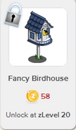 Fancy Birdhouse Rewardville locked