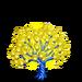 Illuminated Bubble Tree-icon