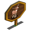 White-tailed Buck Mastery Sign-icon