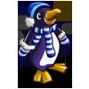 Blue Mitt Penguin-icon